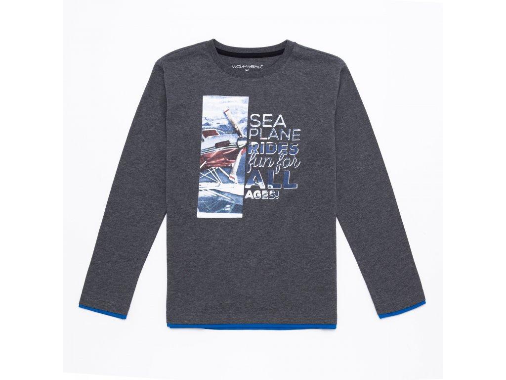 Chlapecké triko-Wolf S2632, vel.122