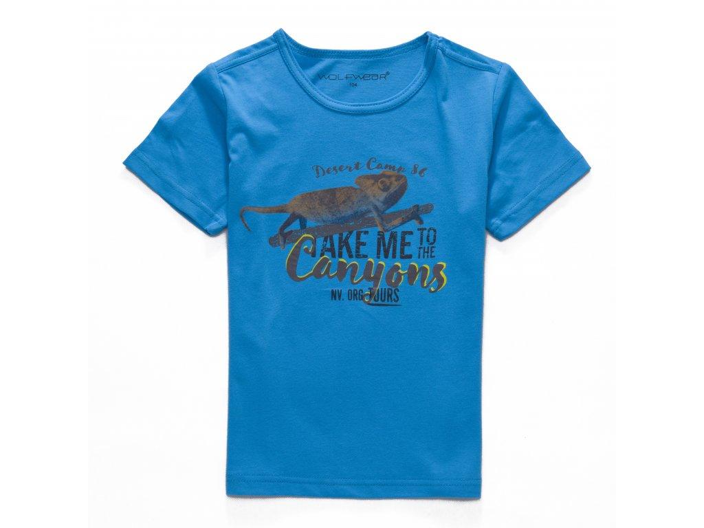 Chlapecké triko- Wolf S2701 ,vel.98-128  s2601