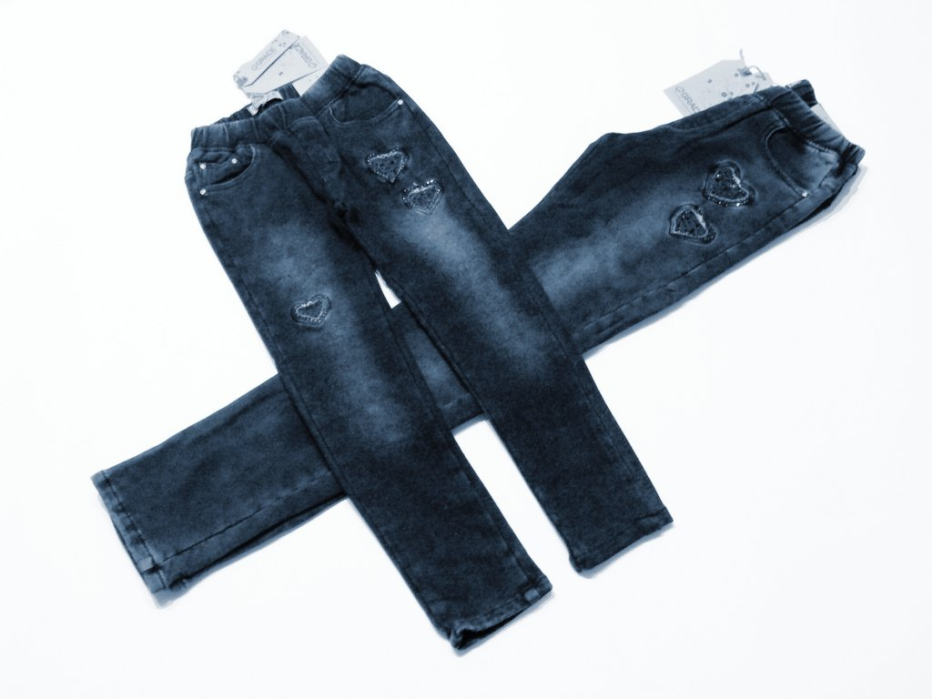 1cc505b29ca Dívčí riflové kalhoty