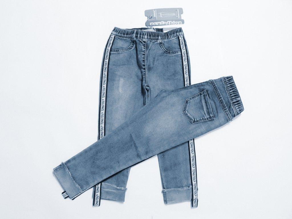 3f520787f30 Dívčí riflové kalhoty-GRACE G80618