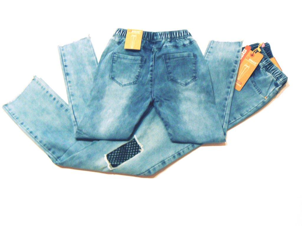 f81cbad1cf8 Dívčí riflové kalhoty-GRACE G80602