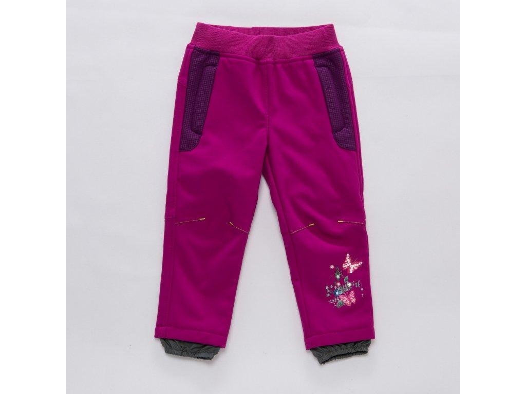 Dívčí softschellové kalhoty 210e8870c5