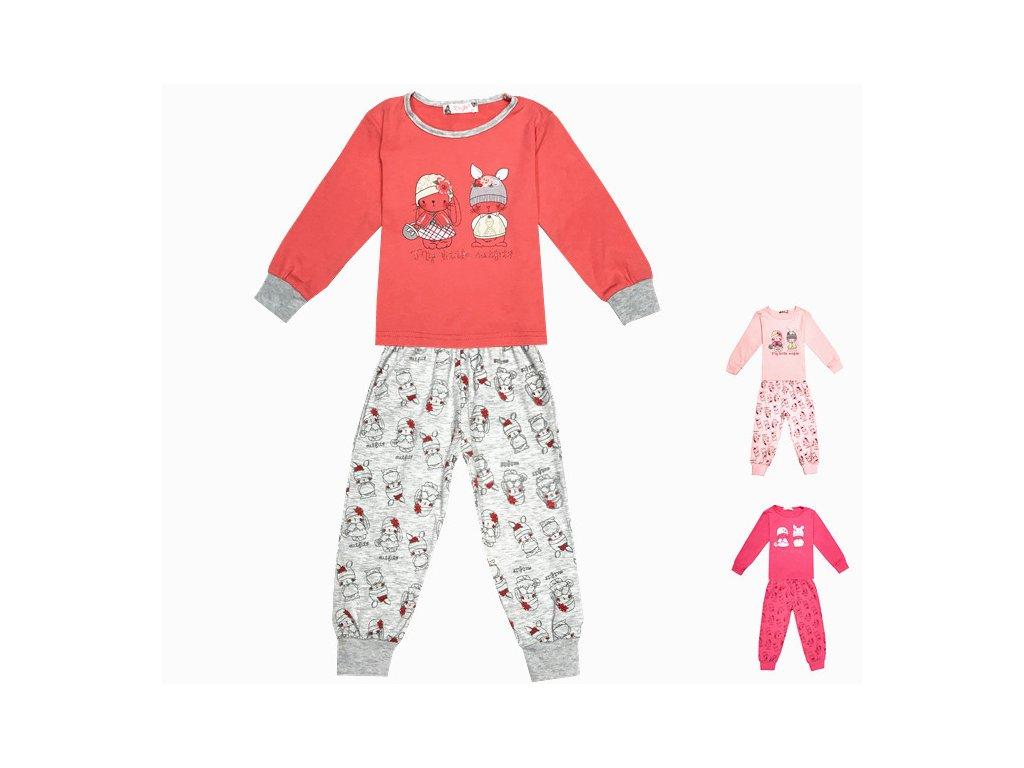 53890beed7c Dívčí pyžamo - KUGO ML7090