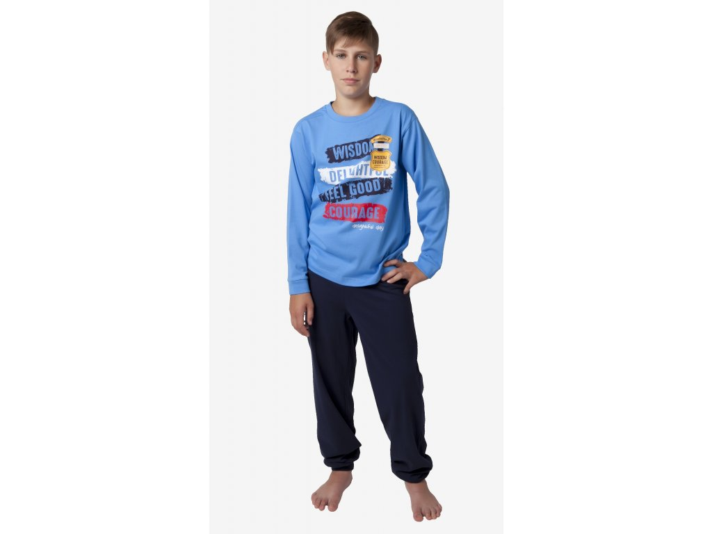 Chlapecké pyžamo- CALVI 18-335, ve.150-170