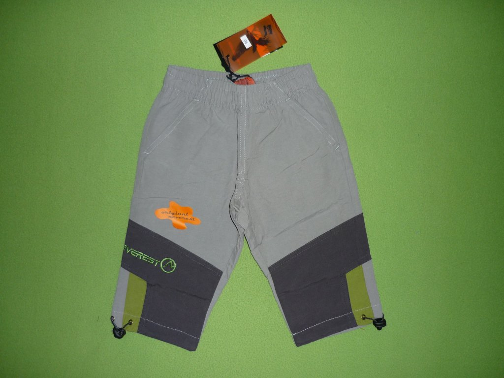Chlapecké 3/4 plátěné kalhoty-NEVEREST B131cc, vel.98-116  B131cc