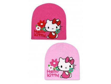 Dívčí čepice - SETINO Hello Kitty 771-855 , vel. 52-54