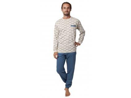 Pánské pyžamo - CALVI 19-561, vel.M-XXL