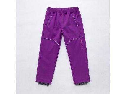 Dívčí softschellové kalhoty-Wolf B2781, vel.86-110