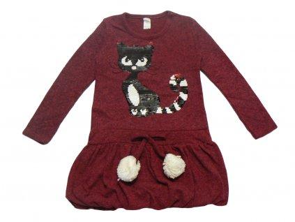 Dívčí šaty-TUZZY kočička, vel.104-140