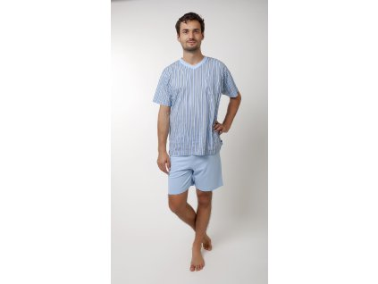 Pánské pyžamo- CALVI 16-496, vel.M-XXL