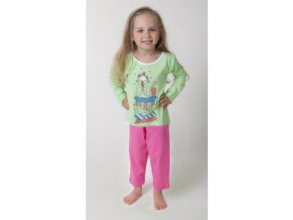 Dívčí pyžamo- CALVI 16-425, ve.100-120