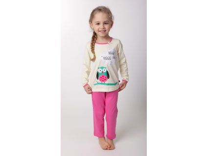 Dívčí pyžamo- CALVI 17-344, ve.100-130