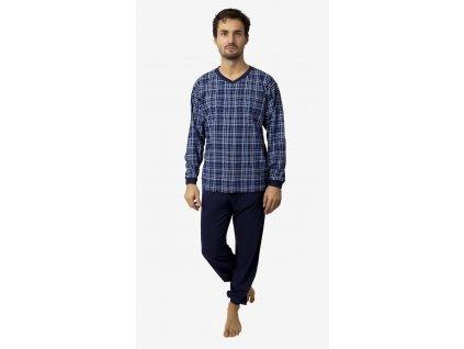 Pánské pyžamo- CALVI 18-214, vel. L-3XL