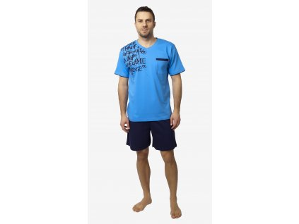 Pánské pyžamo- CALVI 18-204, vel.M-XL