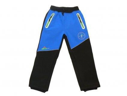 chlapecke kalhoty modra