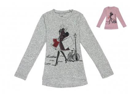 Dívčí triko, svetřík