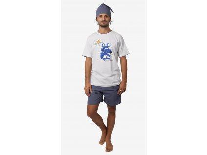 Pánské pyžamo- CALVI 18-380, vel.M-XXL