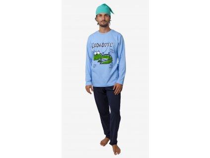 Pánské pyžamo- CALVI 18-399, vel.M-XXL