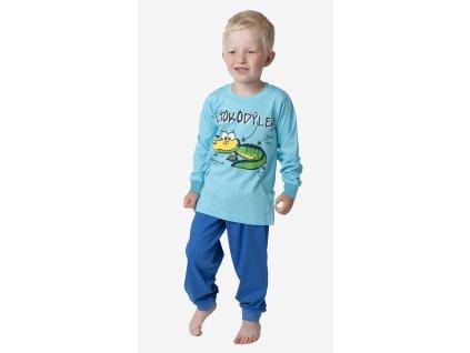 Chlapecké pyžamo- CALVI 18-325, ve.100-130