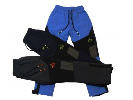 Chlapecké zateplené šusťákové kalhoty-GRACE B71154, vel.134-164