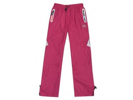 dívčí šusťákové kalhoty 2 8