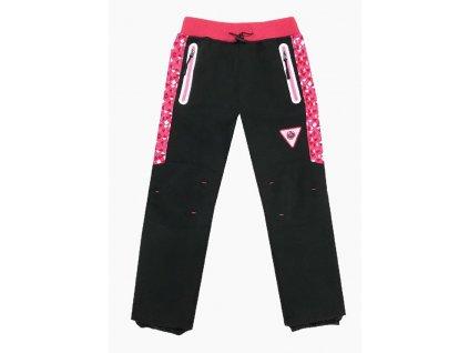 Dívčí softshellové kalhoty -KUGO B220, vel.104-134