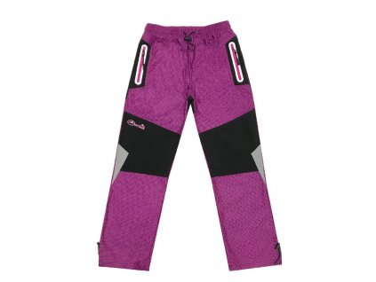 Dívčí outdoorové kalhoty-KUGO T5707, vel.134-164